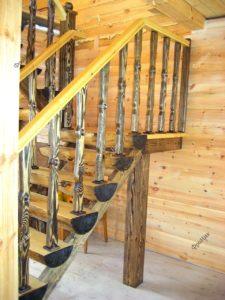 Состаренная лестница Тюмень