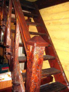 Лестница под старину