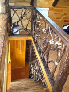 Лестница корнепластика
