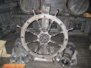 Корабельный штурвал на заказ