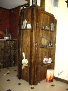 Шкаф из массива темного дерева Тюмень