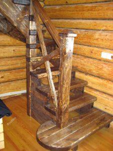 Винтовая лестница без площадки