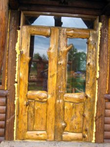 Двери из веток дерева Тюмень