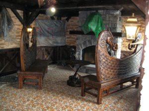 деревянный дизайн интерьера фото