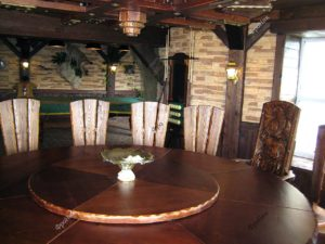 Круглый ламинированный стол на заказ