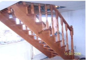 Деревянные лестницы Тюмень