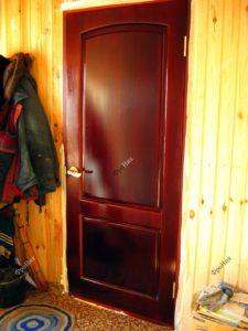 Входная дверь краснодеревщик