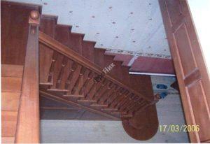 Деревянные лестницы в Тюмени фото