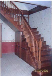 Изготовление деревянных лестниц в Тюмени