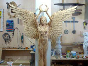 Резьба ангел