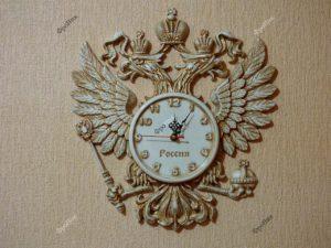Часы сувенир из дерева