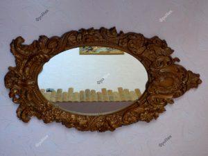 Резное зеркало дерево