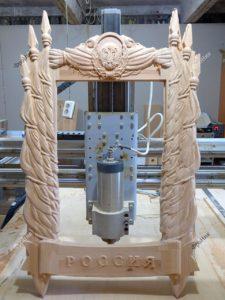 3Д ЧПУ станок для резьбы по дереву Тюмень