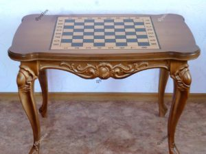 Стол для шахмат на заказ и дерева Тюмень