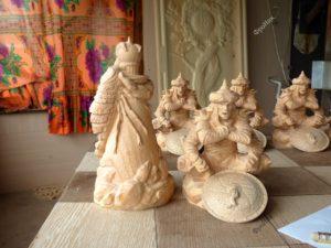 Фигурки из дерева на заказ Тюмень