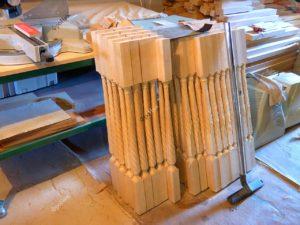 Изготовление балясин из массива