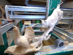 Производство резного декора из массива дерева на станках с ЧПУ