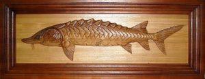 Картина рыба Тюмень