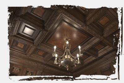 Кессонный потолок Тюмень