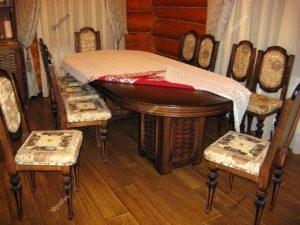 Классические столы и стулья на кухню