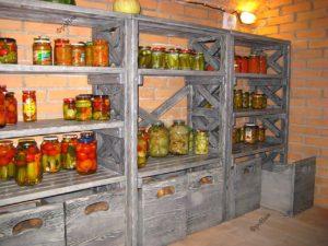 Стеллаж для овощей на заказ
