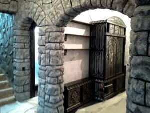 Шкаф стилизация под замок