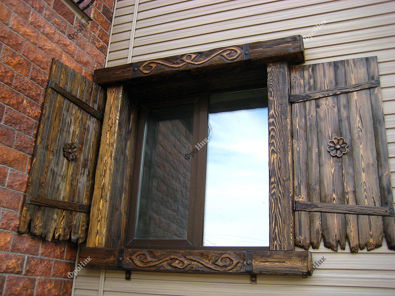 карта выпадает ставни на окна деревянного дома фото выдалась днях погода