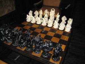 Шахматы из дерева на заказ Тюмень