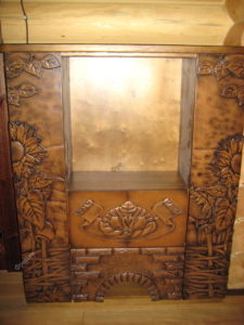 Шкаф в Украинском стиле