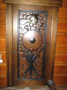Дверь в стиле Викинги