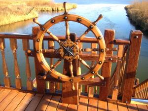 Колесу штурвал корабля на заказ