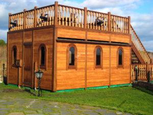 Изготовление деревянной палубы