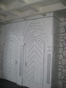 Расписные двери в шкаф