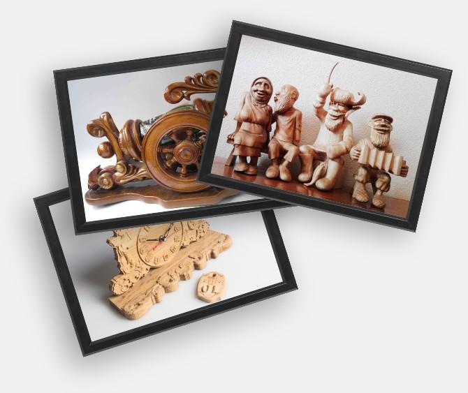 Отправьте нам сувениры из дерева